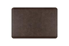 Wellness Anti-Fatigue Kitchen Mat, Linen - 3 x 2 ft. - Antique Dark