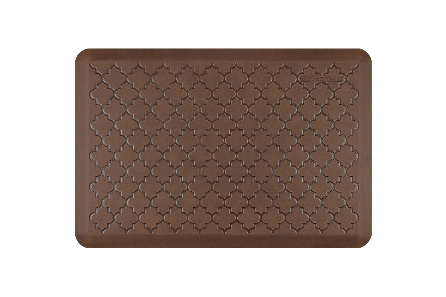 Wellness Anti Fatigue Kitchen Mat, Trellis   3 X 2 Ft.   Antique