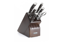 Wusthof Ikon Blackwood Rebrand 7 Piece Knife Block Set