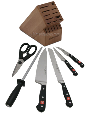 Wusthof Knife Block Set