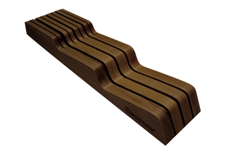 Wusthof 7-slot In-Drawer Storage Tray - Walnut