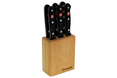 Wusthof Gourmet 7 Piece Steak Knife Block Set
