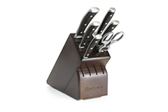 Wusthof Ikon Blackwood 7 Piece Knife Block Set