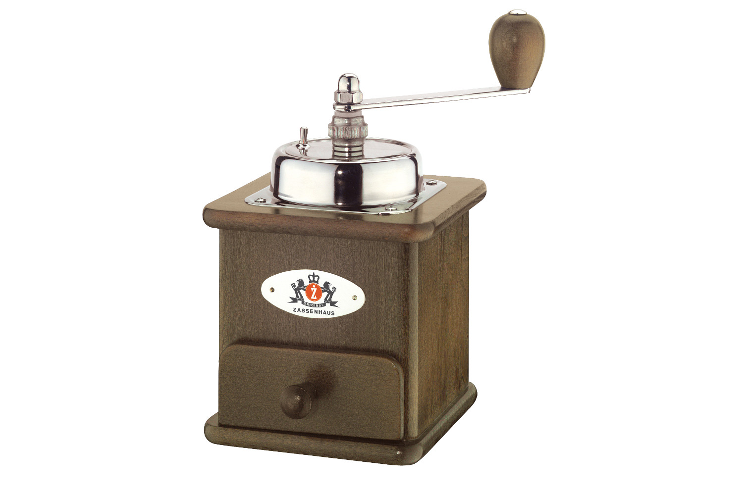 Zassenhaus Brasilia Manual Coffee Mill - Dark Beech Wood