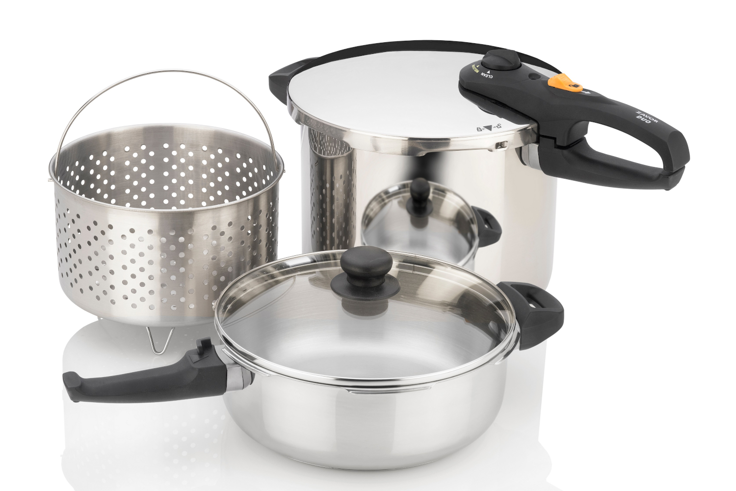 Zavor DUO 5 Piece Combi Pressure Cooker Set