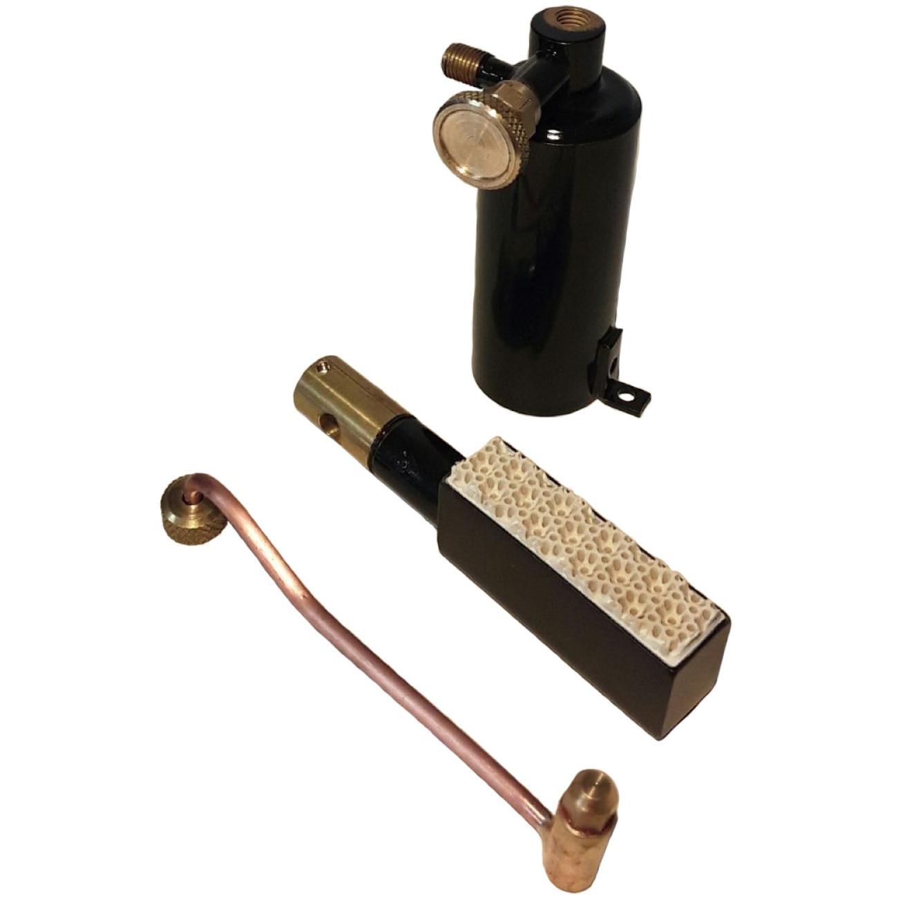 BIX 40 Wilesco D320 Ceramic Gas Burner Unit
