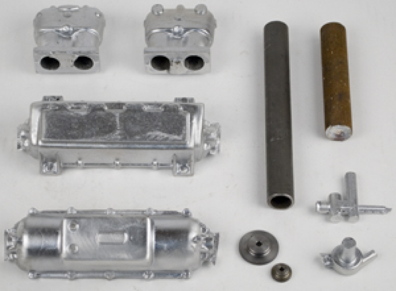 1909 Mercedes casting kit with gears