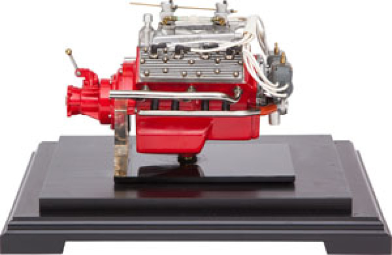 Model 1930 Ford Flathead Engine Working