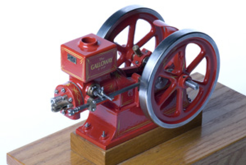 Galloway 1/8 Scale Model Hit and Miss Engine Casting Kit