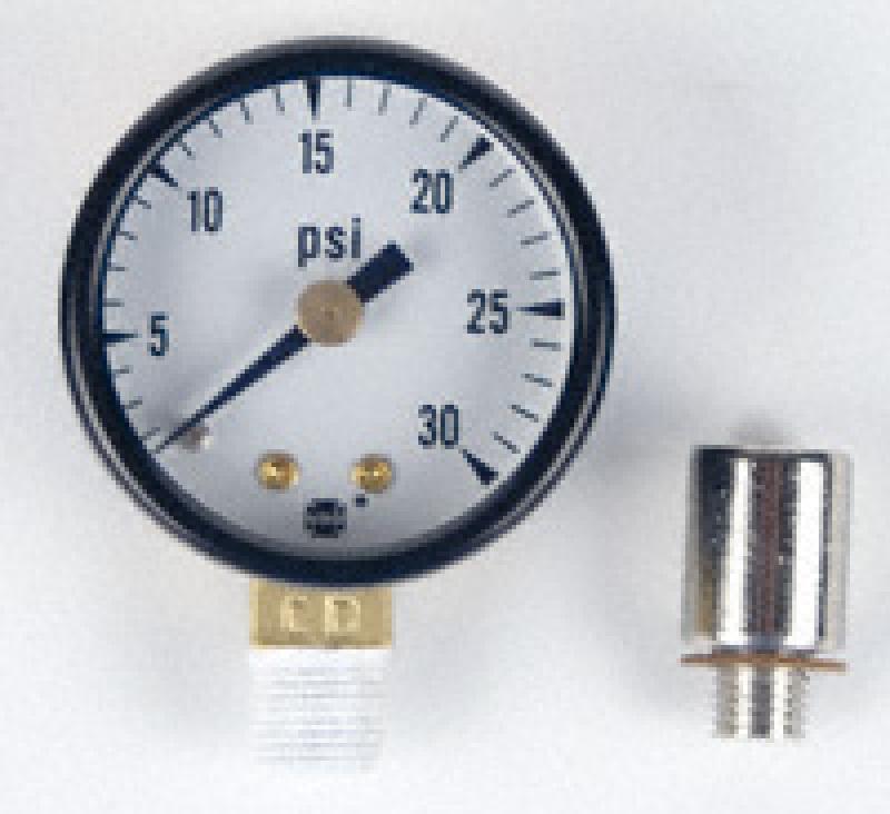 Pressure Gauge with Brass Adapter.