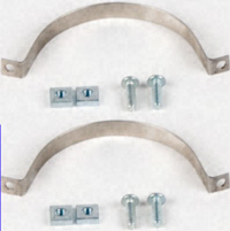 Boiler Straps, set of 2 pieces for 3' boilers.(Commercial Collector Model Engines).
