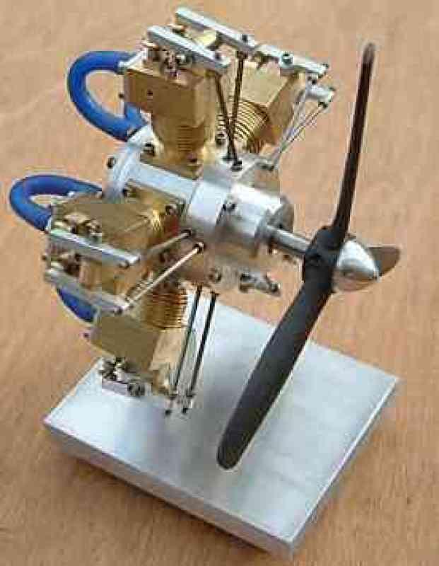 HALO five cylinder radial - Kit Form