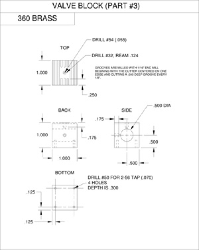 Twin Steam Engine Oscillatory Valve Plans