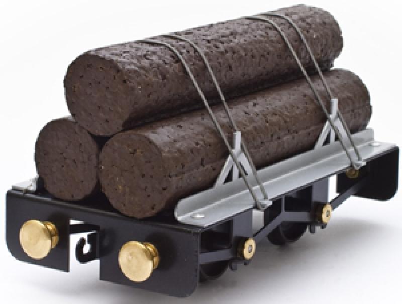 Log Carrier O/1 Scale Train Car