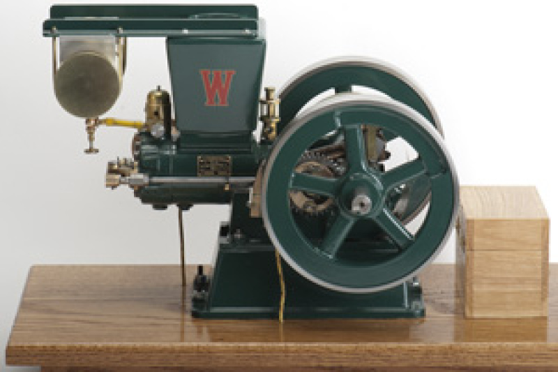 Scale Model of a Woodpecker Hit and Miss Engine - Casting Kit