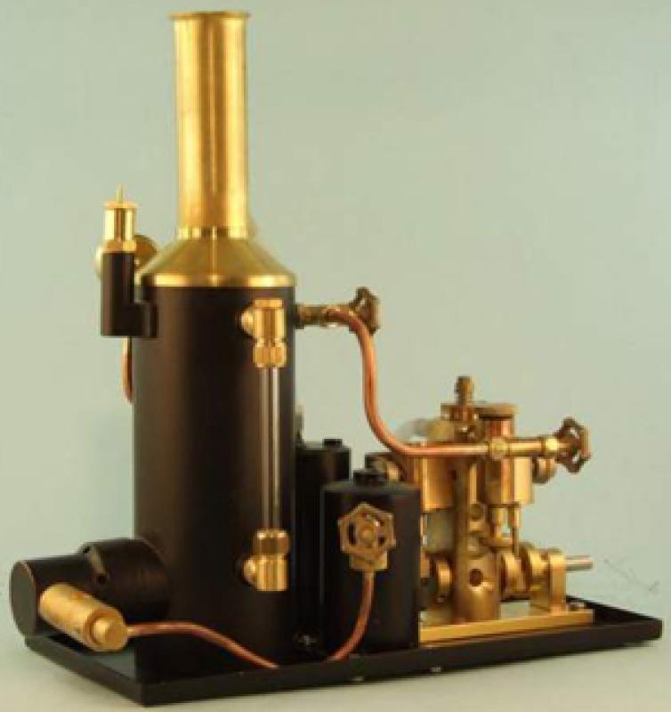 Avon Twin Cylinder Steam Plant Verticle 2 Inch Boiler