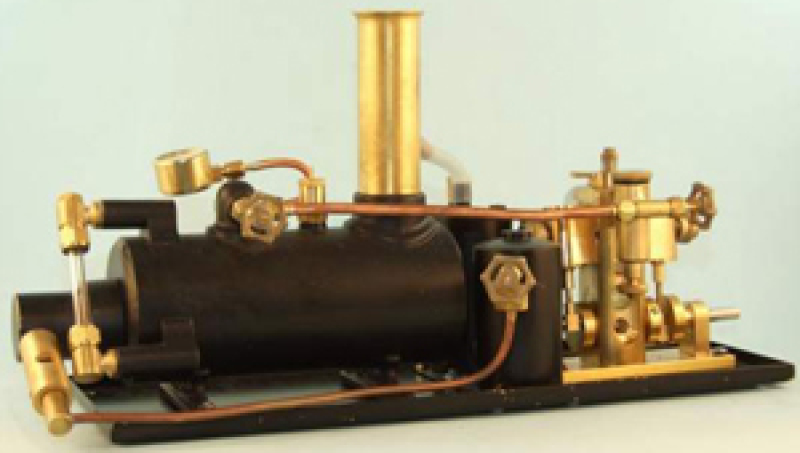 Avon Twin Cylinder Steam Plant Horizontal 2 Inch Boiler