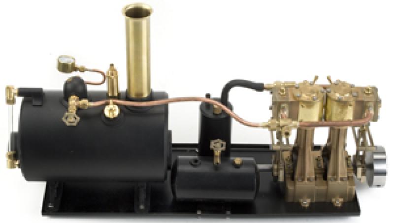 "Mildura RC Reversing Plant 4"" Horizontal Boiler"