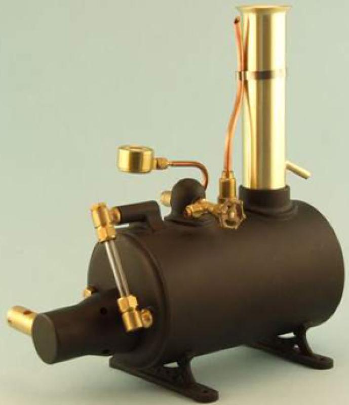 Miniature Steam 3 inch Horizontal Boiler