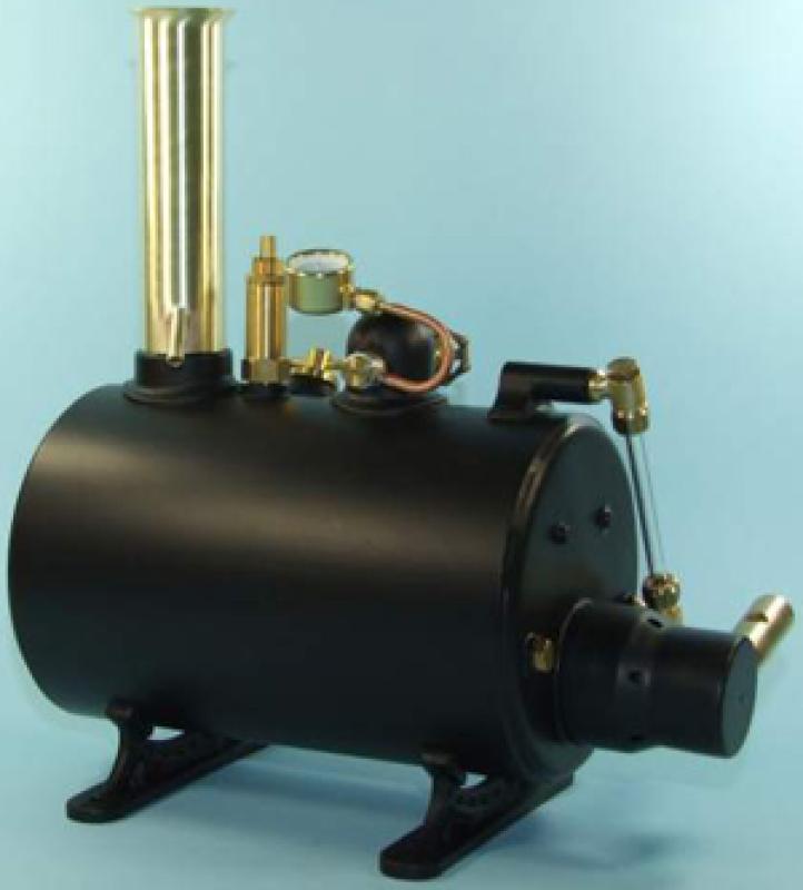 Miniature Steam 4 inch Horizontal Boiler