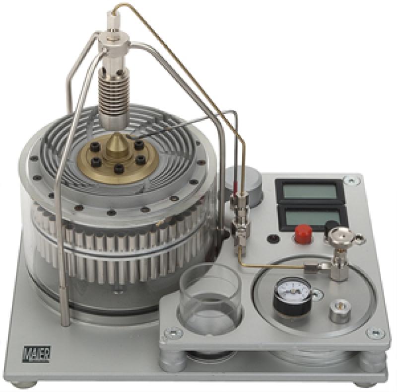 Butane Gas Powered Turbine Engine - T120 Runs on Butane and Steam MM1