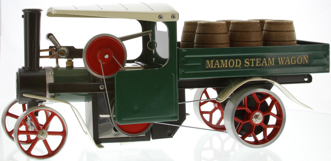 Steam Wagon SW1G Green