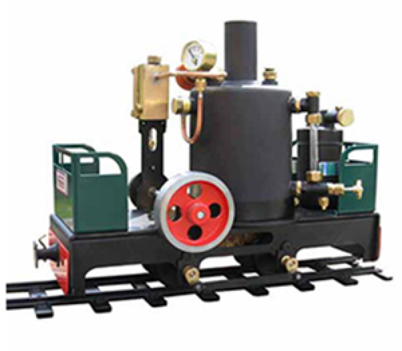 Brunel Live Steam Train Vertical Boiler