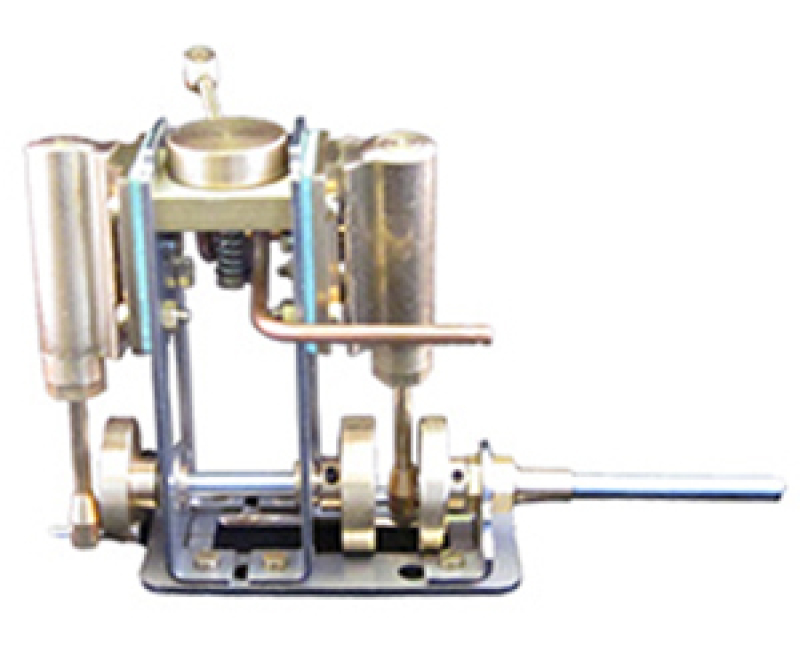 Marine Steam Engine - Double Acting Twin Oscillating