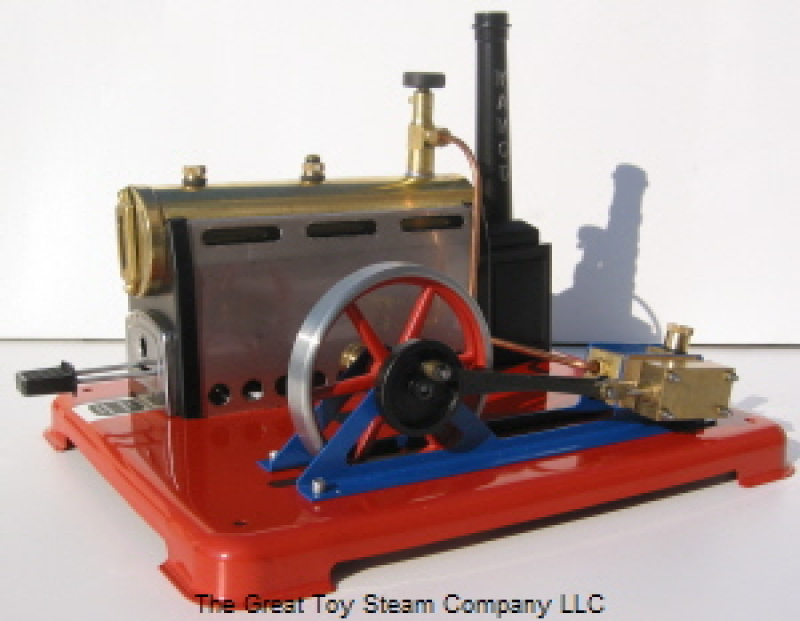 SP6 Stationary Steam Engine Double-Acting Steam Engine with steam supply valve