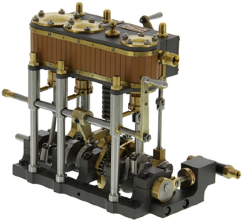Martin Triple Marine Steam Engine
