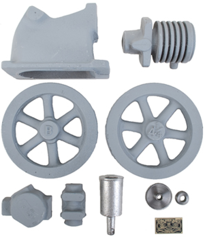 Scale Model of the Little Brother Hit and Miss Air Cooled Engine - Casting Kit