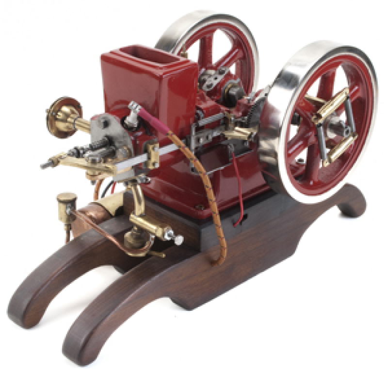 Scale Model of the Little Brother Hit and Miss Water Cooled Engine - Casting Kit