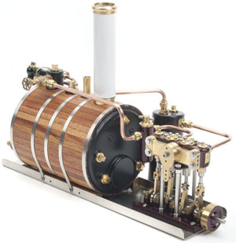 The Sparrow Horizontal Steam Plant