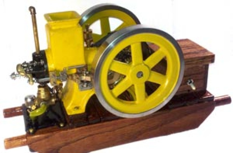 Scale Model of the Olds Hit and Miss Engine - Casting Kit 1/4 Scale