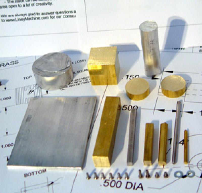 Twin Steam Engine - oscillatory valve - Kit