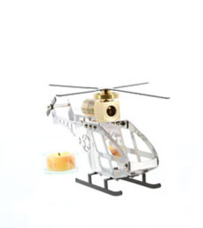 Helicopter Stirling Powered