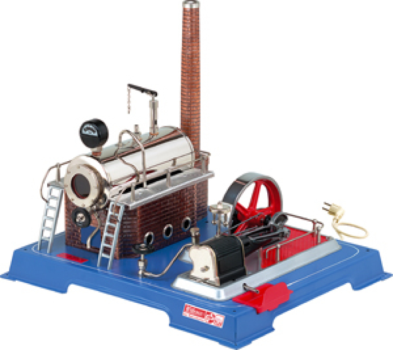 Wilesco D20 Steam Engine with 110 Volt Electric Heater
