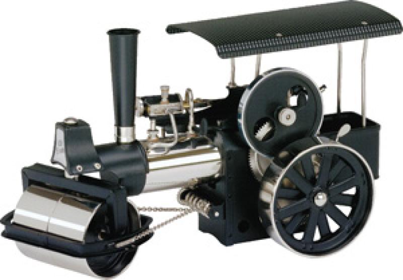 Wilesco D368 Steam Roller Black-Nickel