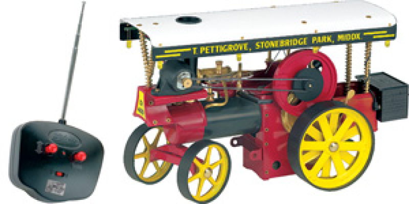 Wilesco D499 Showman's Engine with RC Control
