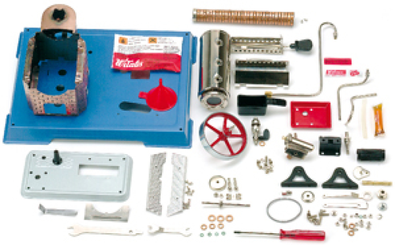 Wilesco D9 Steam Engine Dry Fuel (D10 in kit form)