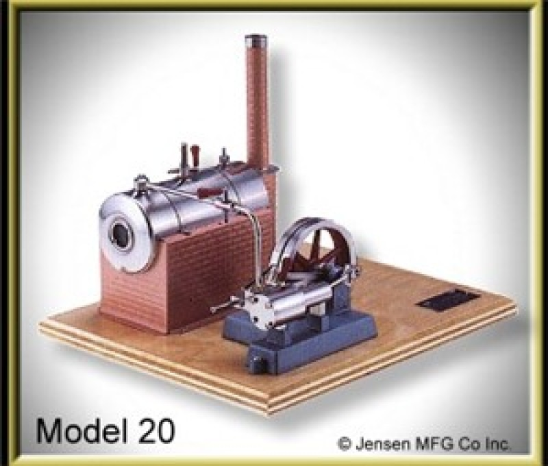 Model 20 Steam Engine