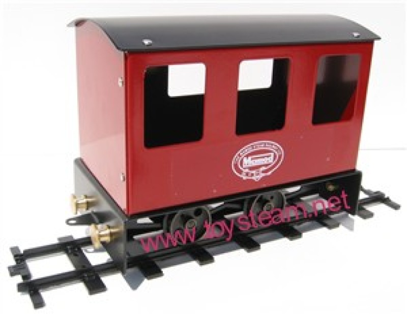 Passenger Carriage O/1 Scale Train Car GREEN ONLY
