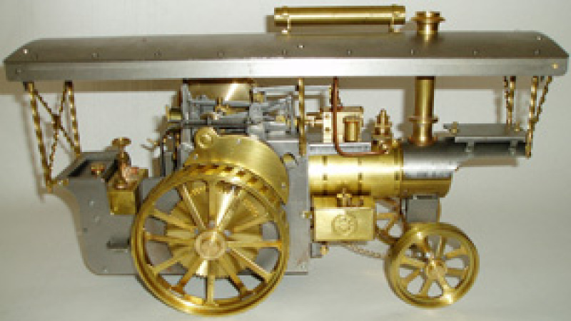D.R. Mercer Showman's Engine Completed