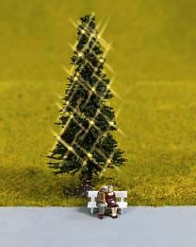 Christmas Tree Lighted Z Scale