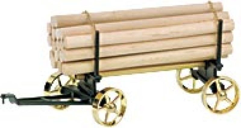 Lumber Wagon Black-Brass