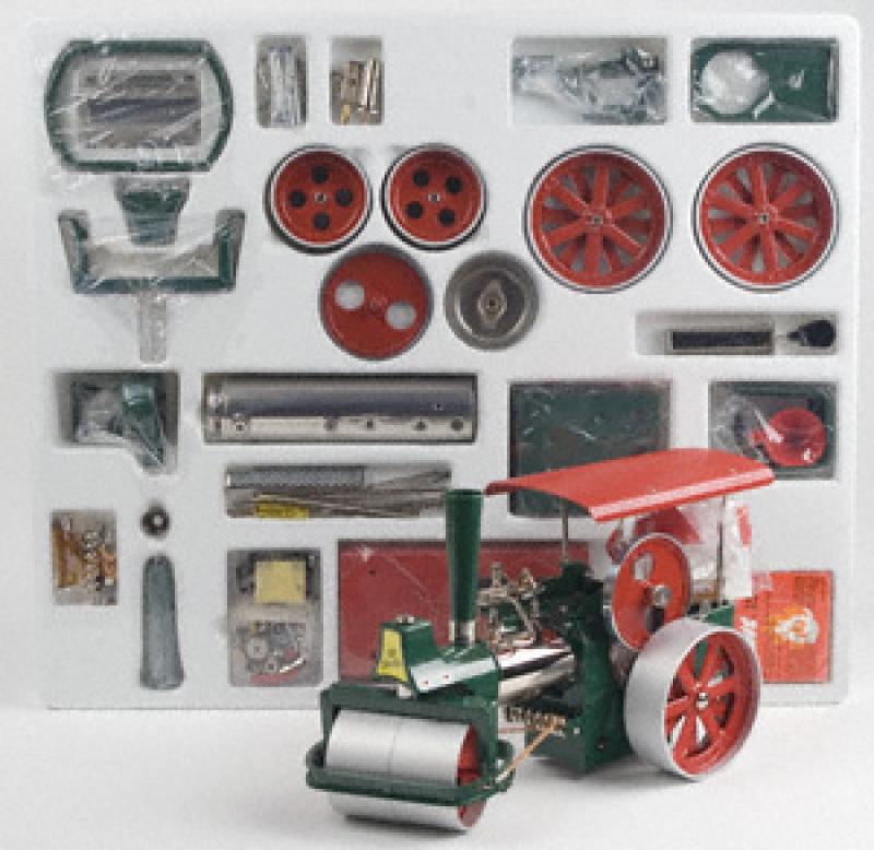Wilesco D375 Steamroller Green Kit
