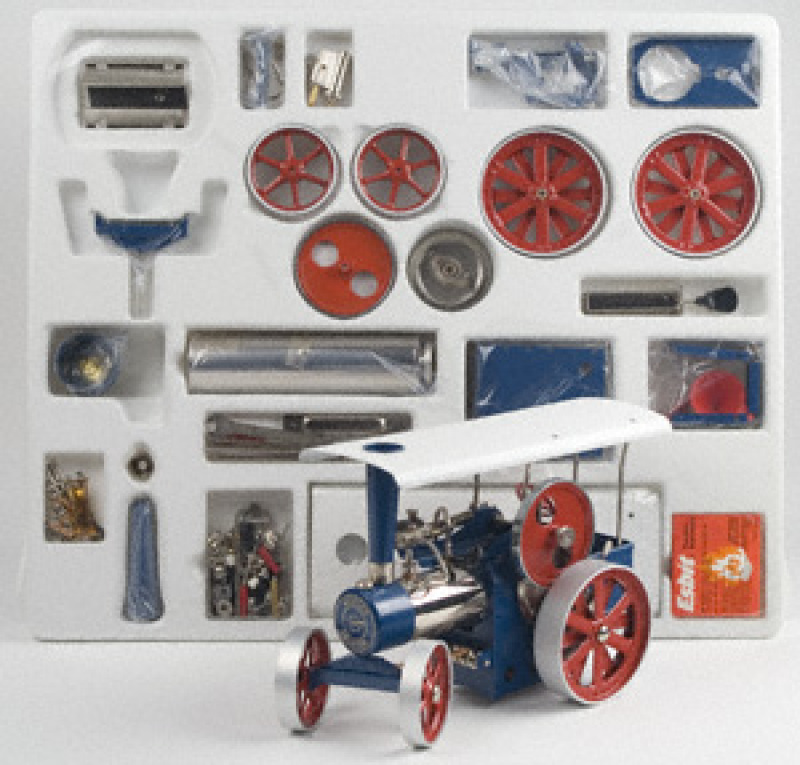 Wilesco D415 Steam Traction Engine Blue Kit
