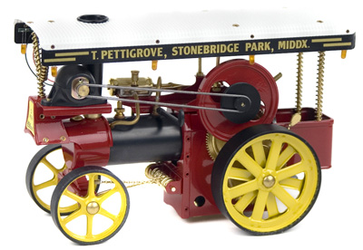 Driving Model Steam Engines