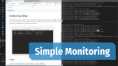 Monitor with eTop