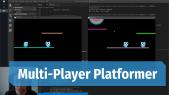 Online Multiplayer Platformer Game with Emitter